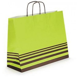 Sac Choco+ vert 40x31x14 -...