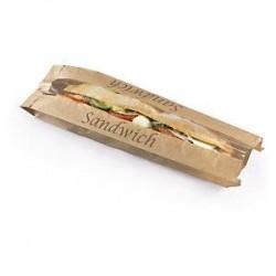 Sachet sandwich papier brun...