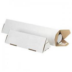 Tube carton triangulaire...