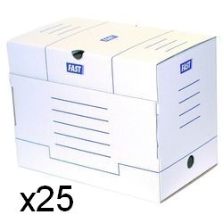 Paquet de 25 boites...