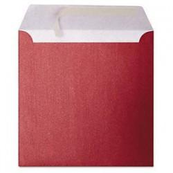 Enveloppes irisées rouge...
