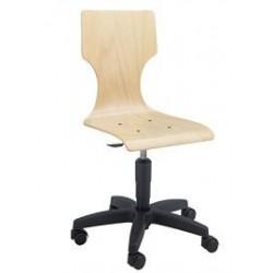 Chaise info coque bois denver