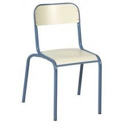Chaise vlore 4 pieds stratif.