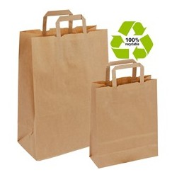 50 sacs papier kraft brun...