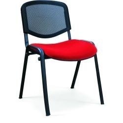 Chaise r union dos r sil rouge