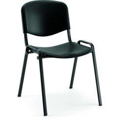 Chaise polypro sophia noir