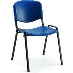 Chaise polypro sophia bleu