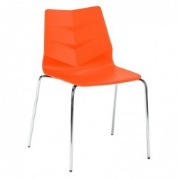 Chaise orange KLASS ONE -...
