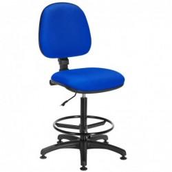 Siège Office tissu bleu -...