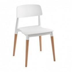 Chaise OREA blanche - Vendu...