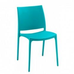 Chaise Bruneau Elya bleue -...