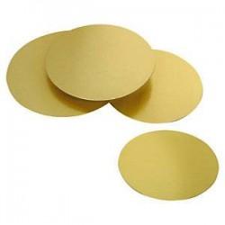 Rond pâtissier doré 220 mm...