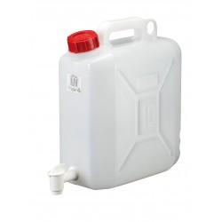Bidon avec robinet, HDPE, 10 l