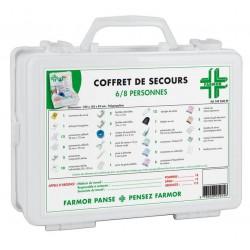 Coffret Secours 6/8...
