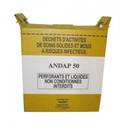 Conteneur Fût Carton 50L...