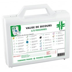 Valise Secours 6/8...